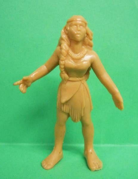 Pocahontas - Figurine Monochrome Yolanda - Pocahontas