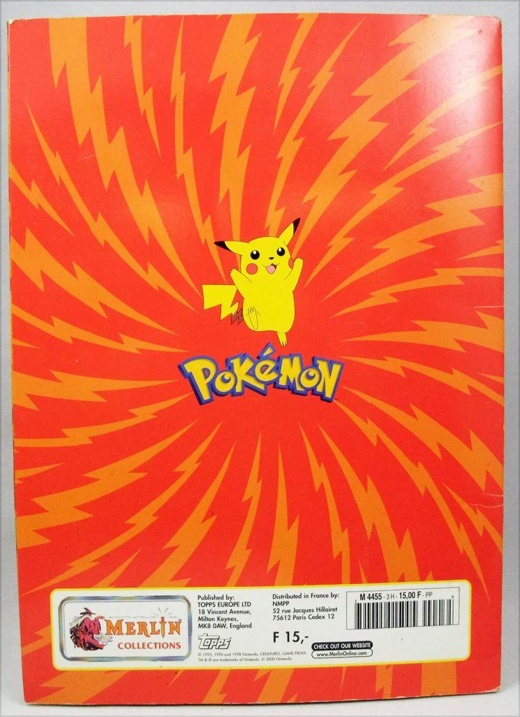 Pokémon - Sticker Album Collecteur de vignettes Série 1 - Merlin Collection 2000