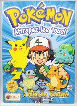 Pokémon - Sticker Album Collecteur de vignettes Série 2 - Merlin Collection 2000
