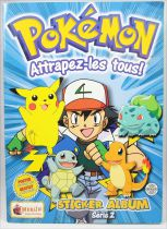 Pokémon - Sticker Album Collecteur de vignettes Série 2 - Merlin Collection 2000