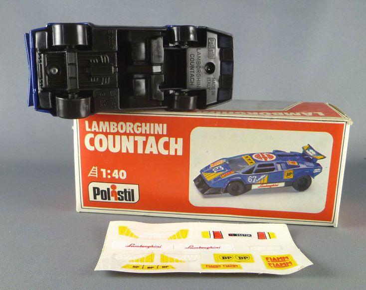Polistil E2007 Lamborghini Countach Mint in box Decals for You Series