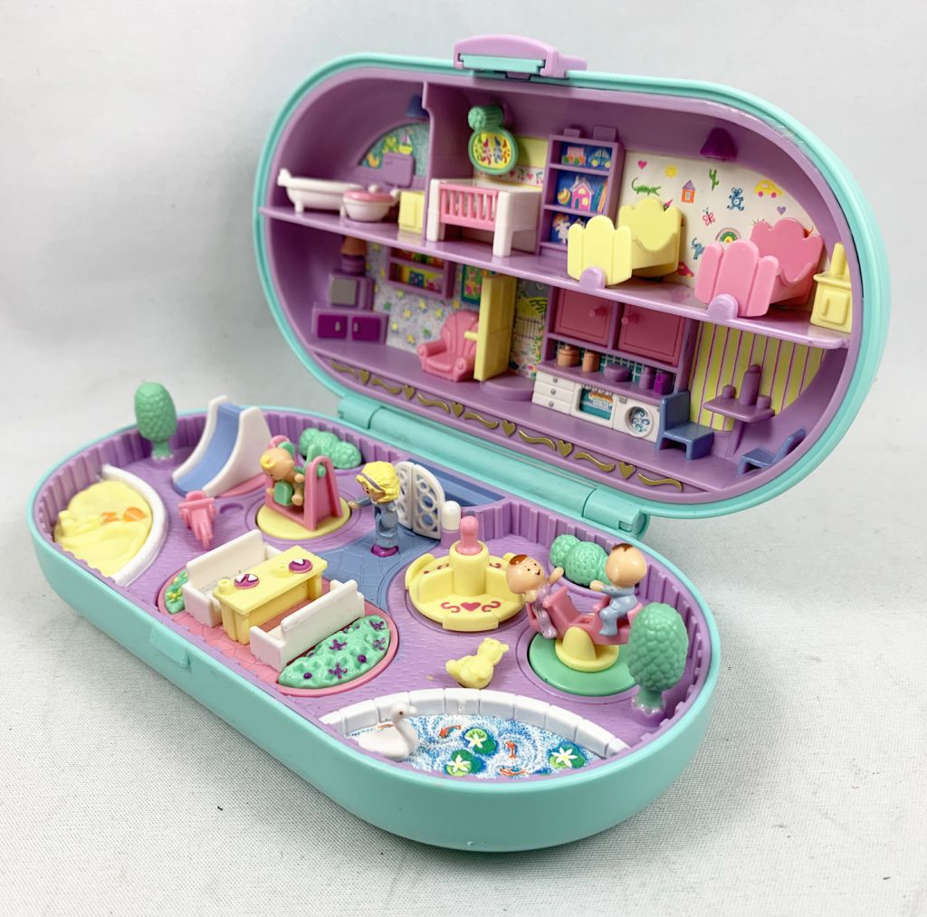 Polly Pocket - Bluebird Toys 1992 - Baby Sitting Stamper (occasion)