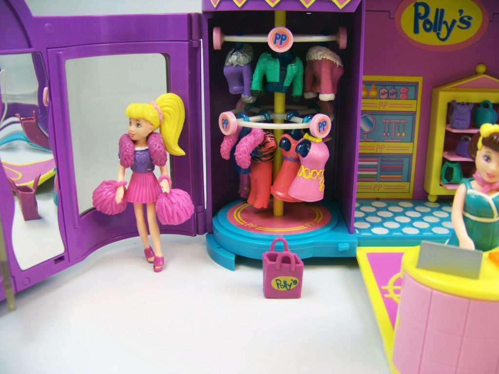 Polly Pocket - Mattel 1999 - Polly\'s Dress Shop (occasion) 02