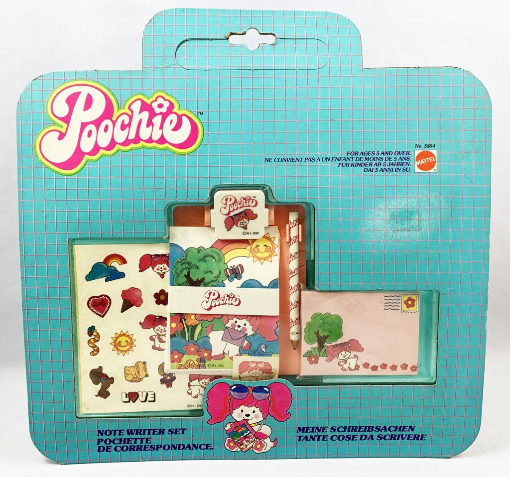 Poochie - Mattel - Set d\'accessoires Pochette de Correspondance