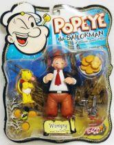 Popeye - Figurine articulée 14cm - Wimpy / Gontran - Mezco