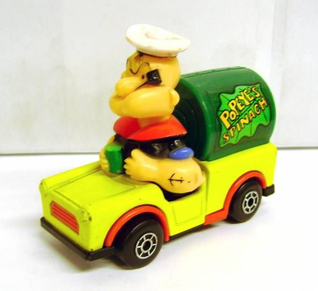Popeye - Matchbox Diecast Vehicle with figure - Popeye