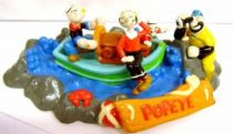 Popeye - PVC figures - Popeye on a boat
