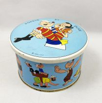 Popeye et Olive - Boite à Bonbons en Métal - Brochet 1966