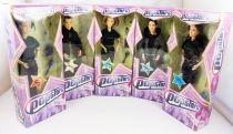 Popstars - Set of 5 Collectible dolls 30cm - Hear\'Say : Kimberley, Suzanne, Myleene, Danny, Noël-John