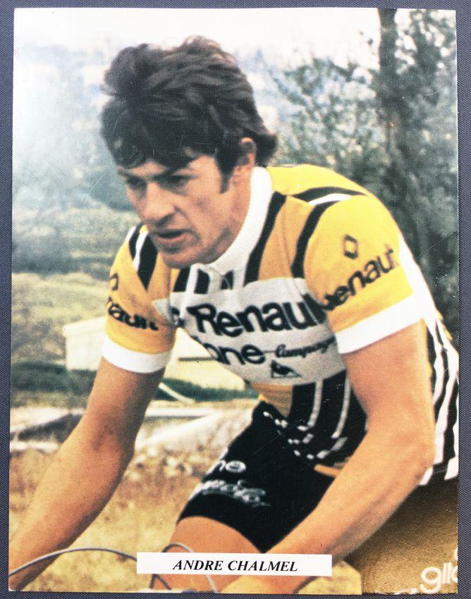 Postal Card - Renault Gitane Team 1978 - André Chalmel