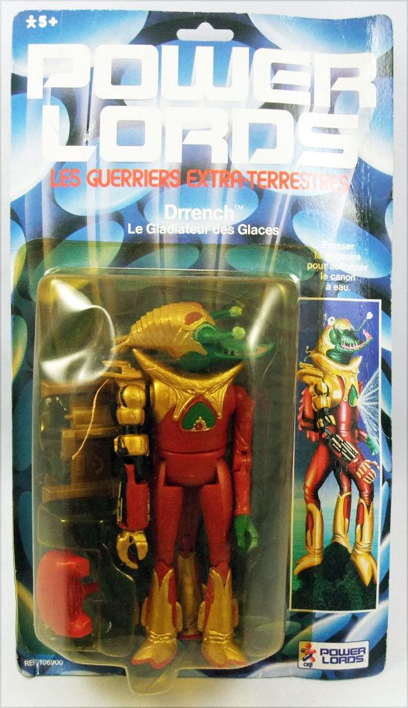 Power Lords - Revell - Drrench Le Gladiateur des Glaces (Blister Ceji France)