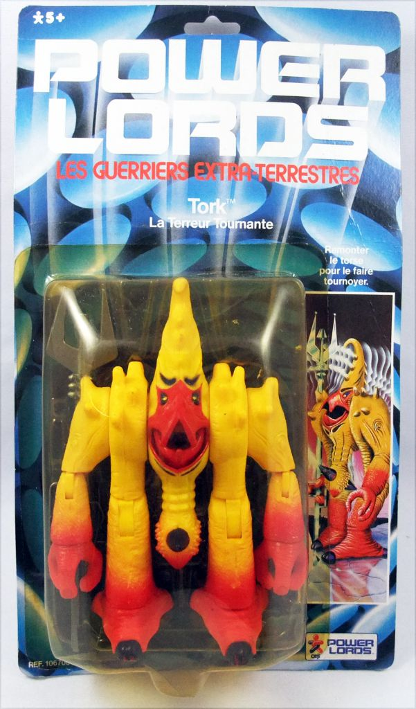 Power Lords - Revell - Tork La Terreur Tournante (Blister Ceji France)