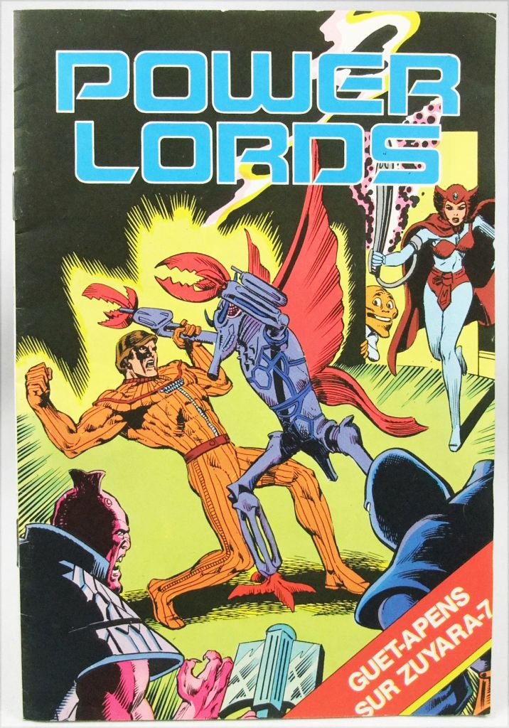 "Power Lords - Revell Ceji - BD promotionelle \""Guet-Apens sur Zuraya-7\"""