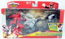 Power Rangers Dino Charge - Dino Cycle & Black Ranger