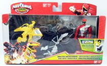 Power Rangers Dino Charge - Dino Cycle & Red Ranger