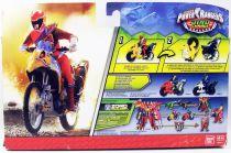 Power Rangers Dino Charge - Moto Raptor & Ranger Rouge