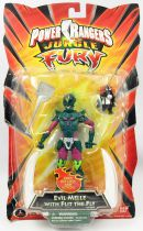 """Power Rangers Jungle Fury - Evil Melle with Flit the Fly - Bandai 6\"""" action figure"""