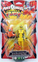 Power Rangers Jungle Fury - Jungle Fury Cheetah Ranger - Figurine 15cm Bandai