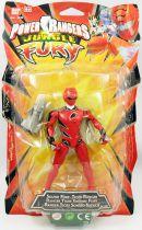 Power Rangers Jungle Fury - Sound Fury Tiger Ranger - Figurine 15cm Bandai