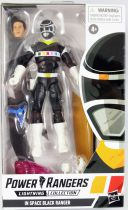 """Power Rangers Lightning Collection - In Space Black Ranger - Hasbro 6\"""" action figure"""