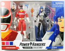 Power Rangers Lightning Collection - In Space Red Ranger & Astronema - Figurines 16cm Hasbro