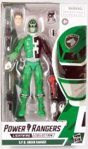 Power Rangers Lightning Collection - S.P.D. Green Ranger - Figurine 16cm Hasbro
