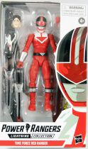 Power Rangers Lightning Collection - Time Force Red Ranger - Figurine 16cm Hasbro