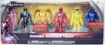 Power Rangers The Movie (2017) - Power Ranger Team with Goldar - Figurines 13cm Bandai