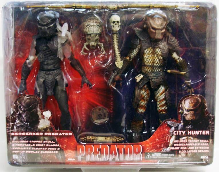 Predator  - Neca 2-pack - Berserker Predator & City Hunter