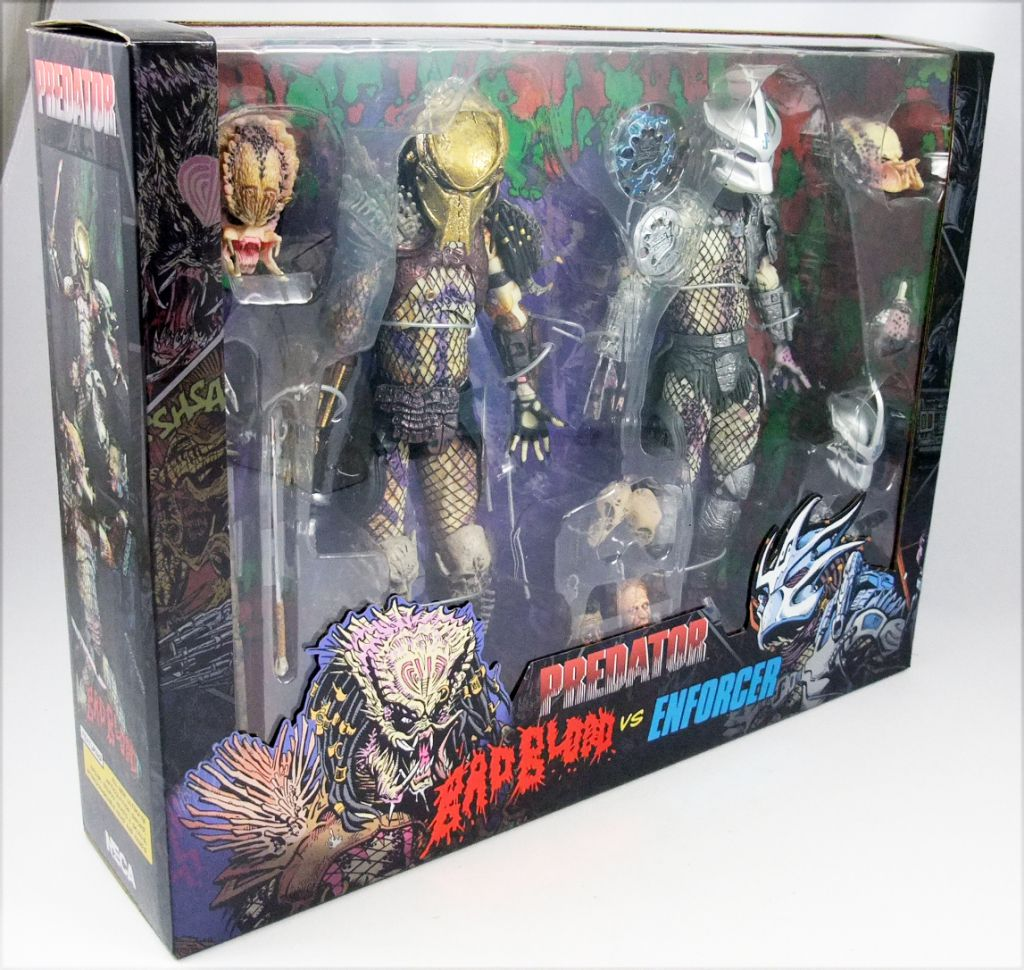 Predator - Neca 2-pack - Bad Blood Predator & Enforcer Predator