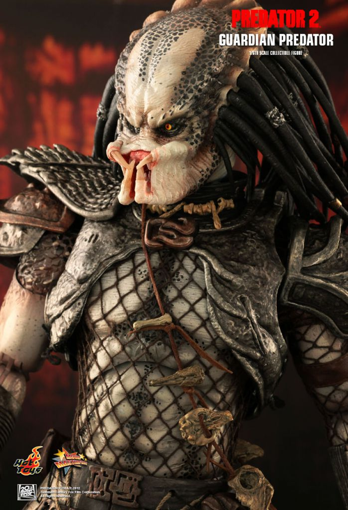 "Predator 2 - Guardian Predator - 12"" figure Hot Toys MMS 126"