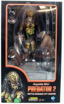 "Predator 2 - Hiya Toys - Battle Damage City Hunter - Figurine ""Exquisite Mini\"" 1/18ème"