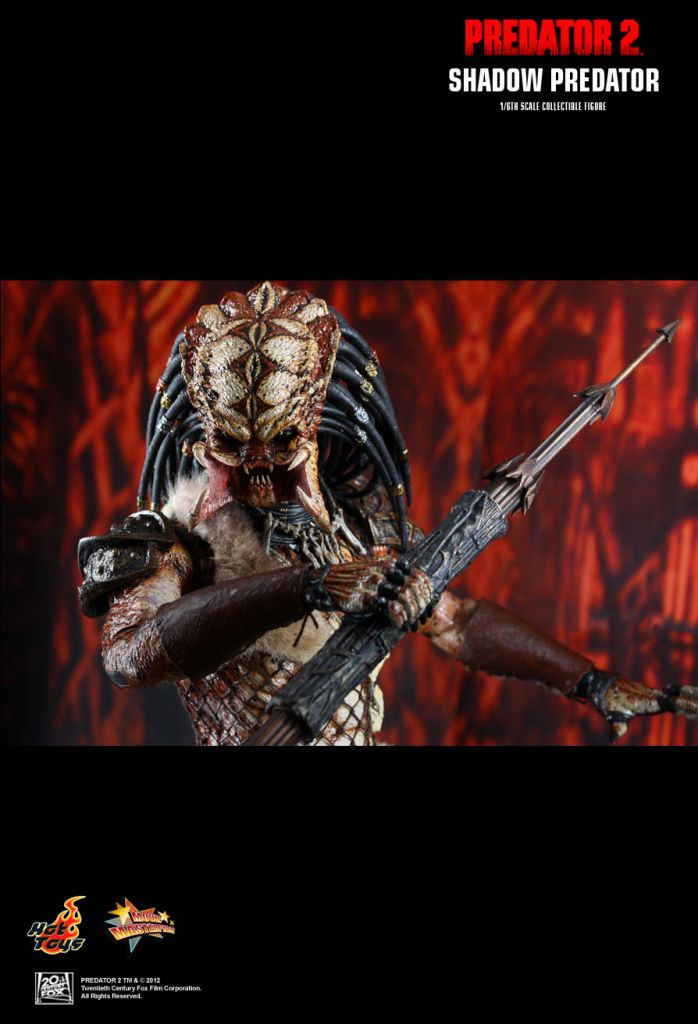 "Predator 2 - Shadow Predator - 12\"" figure Hot Toys MMS 154"