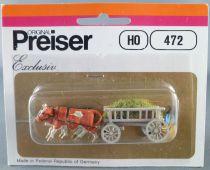 Preiser 472 Ho 6 Standing Passengers Mint in box