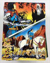 Prince Vailant (Hal Foster\'s) - Comics Images Trading Cards (1995) - Série complète de 96 cartes