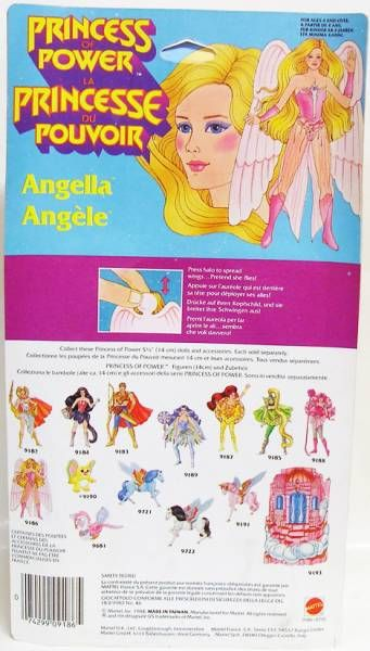 Princess of Power - Angella (Europe card)