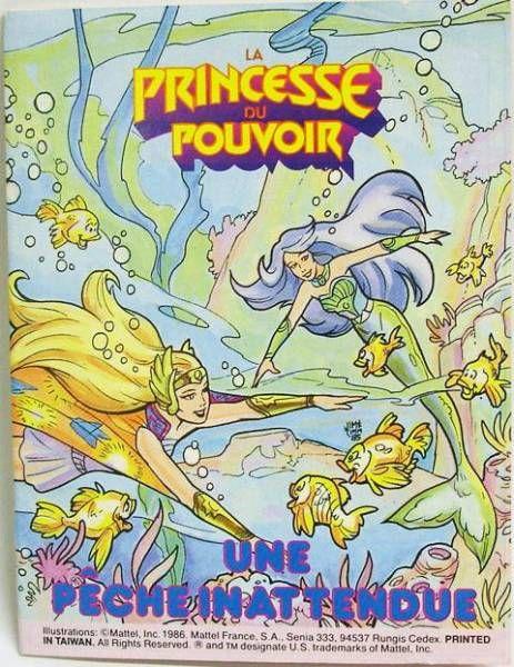 Princess of Power Mini-comic - A Fishy Business! (english-french)