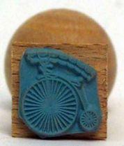 Prisoner\'s logotype ink stamper