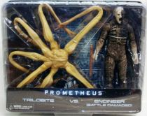 Prometheus - Neca - Trilobite & Engineer (Battle Damaged)