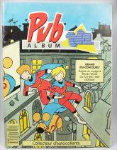 Pub Album TF1 - Album Collecteur de Vignettes Panini 1988