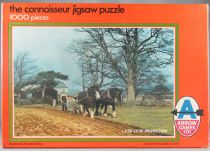 Puzzle 1000 pieces - Arrow Games Ltd Réf 5444 - Ploughin MIB