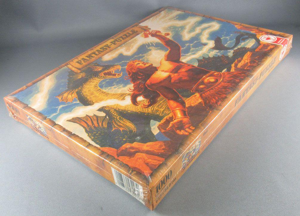 Puzzle 1000 pieces - Ass Ref  5722/7 - Thor Heroic Fantasy G Hildebrandt MSIB