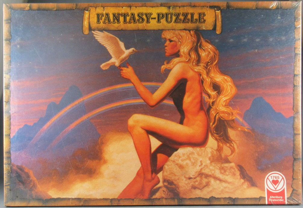 Puzzle 1000 pieces - Ass Ref 5720/9 - Aphrodite Heroic Fantasy G Hildebrandt MSIB