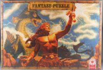 Puzzle 1000 pièces - Ass Réf 5722/7 - Thor Heroic Fantasy G Hildebrandt Neuf Boite Cellophanée