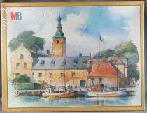 Puzzle 1000 pièces - MB Réf 3165.22 - Halmstad Suède Neuf Boite Cellophanée