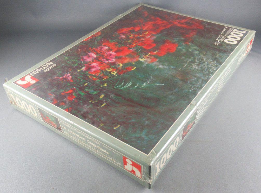 Puzzle 1000 pieces - Nathan Réf 550713 - Grand Photographe J H Lartigue Poppies MISB