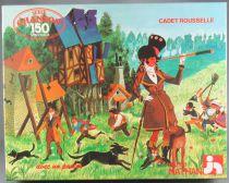 Puzzle 150 pièces - Nathan Réf 555333 - Cadet Rousselle Série Chanson + Poster Neuf Boite