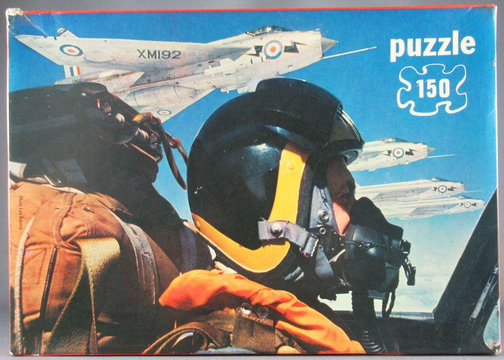 Puzzle 150 pièces - Willeb Réf 1910 - Pilote de Chasse Patrouille France + Poster Neuf Boite