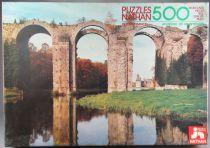 Puzzle 500 pièces - Nathan Réf 551022 - Aqueduc de Maintenon Site de France Neuf Boite