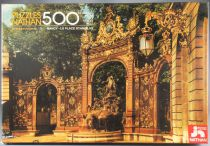 Puzzle 500 pieces - Nathan Ref 551032 - Nancy Stanislas Place French Site MIB